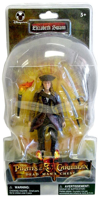 Disney Pirates of the Caribbean Dead Man's Chest Elizabeth Swann Exclusive Action Figure