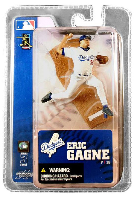 McFarlane Toys MLB Los Angeles Dodgers Sports Picks 3 Inch Mini Series 3 Eric Gagne Mini Figure