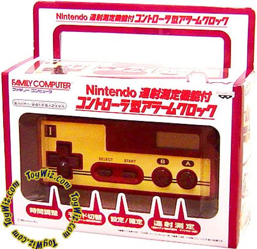 Nintendo Famicom Family Computer Controller Alarm Clock