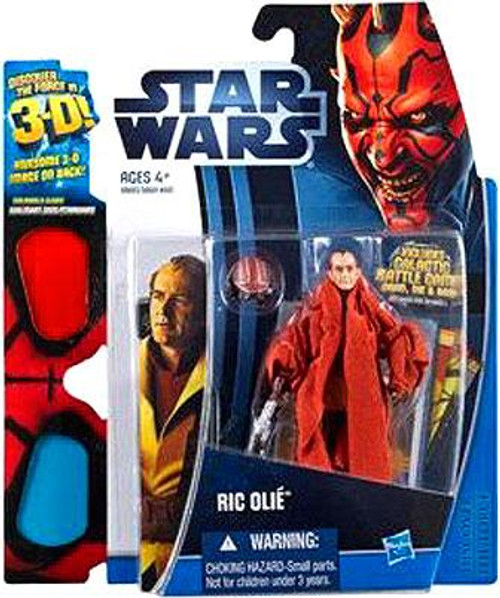 Star Wars The Phantom Menace Discover the Force 2012 Ric Olie Exclusive Action Figure