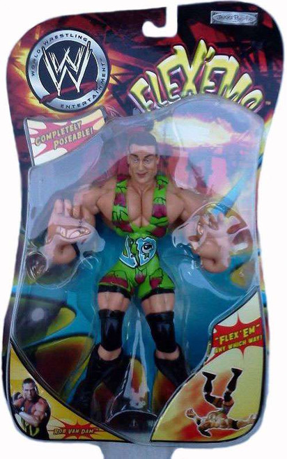 WWE Wrestling Flex'ems Series 2 Rob Van Dam Action Figure