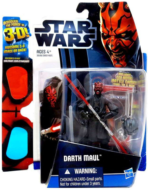Star Wars The Phantom Menace Discover the Force 2012 Darth Maul Exclusive Action Figure