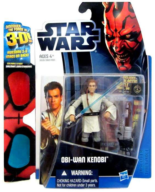 Star Wars The Phantom Menace Discover the Force 2012 Obi-Wan Kenobi Exclusive Action Figure