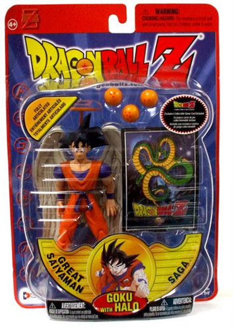 Dragon Ball Z Series 8 Great Saiyaman Saga Goku Action Figure [With Halo]