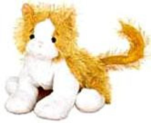 Webkinz Orange & White Cat Plush