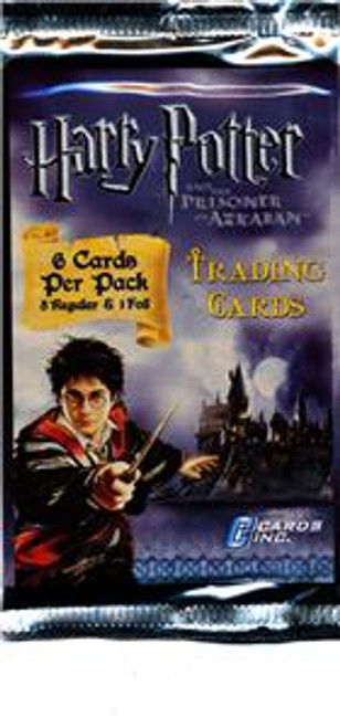 Harry Potter & The Prisoner of Azkaban Trading Card Pack