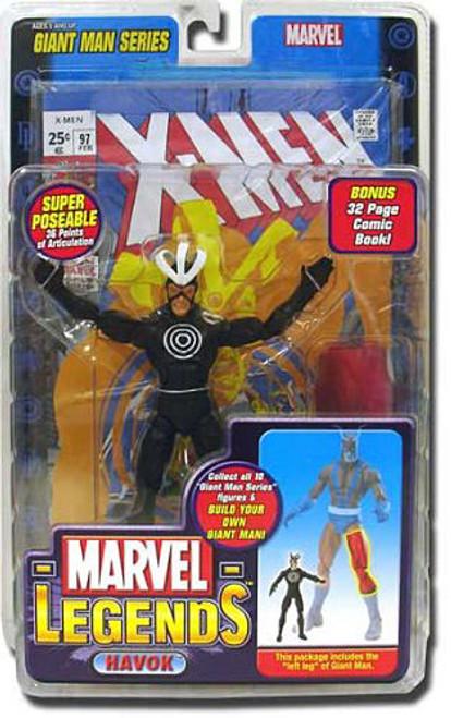 Marvel Legends Giant Man Build A Figure Havok Exclusive Action Figure