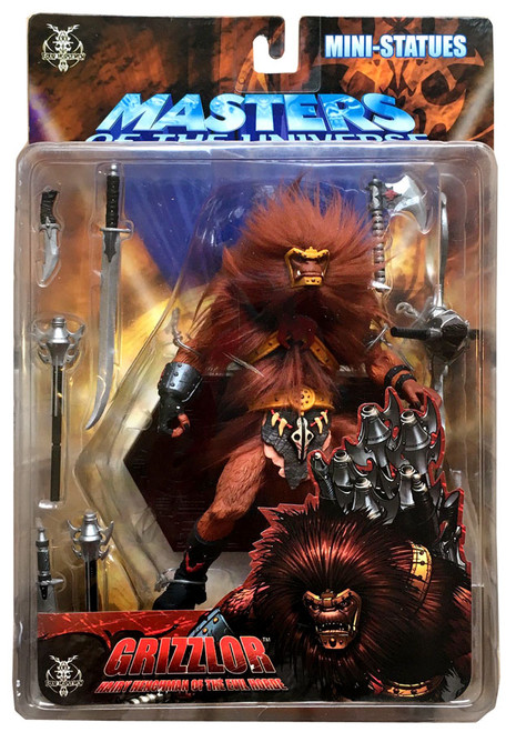 NECA Masters of the Universe Series 2 Grizzlor Mini Statue