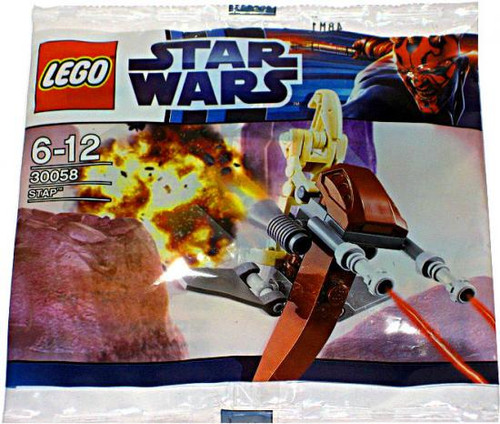 LEGO Star Wars The Phantom Menace STAP Mini Set #30058 [Bagged]