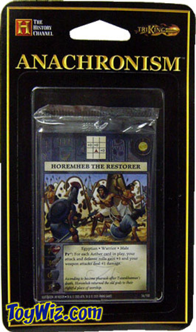 Anachronism Egyptian Horemheb the Restorer Warrior Pack