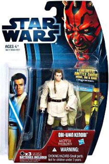 Star Wars The Phantom Menace Movie Heroes 2012 Obi-Wan Kenobi Action Figure #16 [Version 2]