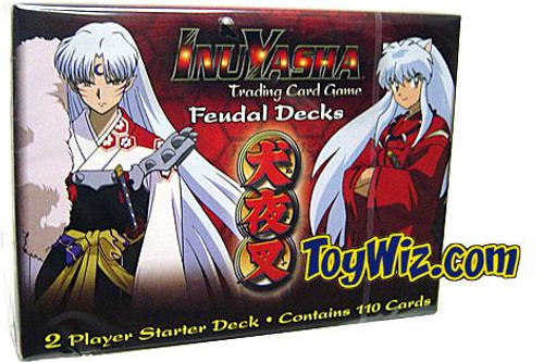 InuYasha Trading Card Game Feudal Decks 2-Player Starter Set