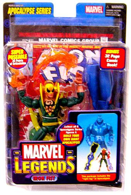 Marvel Legends Series 12 Apocalypse Iron Fist Action Figure