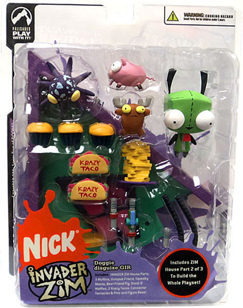 Invader Zim Series 2 of Doom GIR Action Figure [Doggy Disguise]