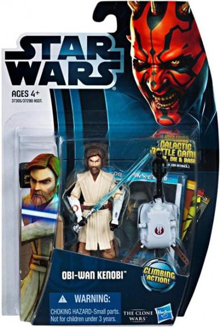 Star Wars The Clone Wars Clone Wars 2012 Obi-Wan Kenobi Action Figure CW12