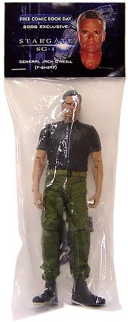 Stargate SG-1 Jack O'Neill Exclusive Action Figure [General, T-Shirt Version]