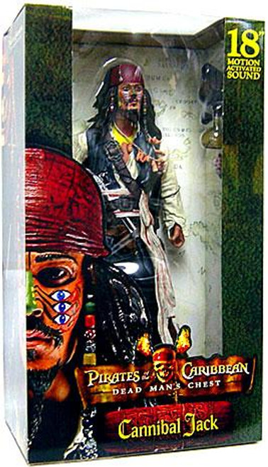 NECA Pirates of the Caribbean Dead Man's Chest Captain Jack Sparrow Action Figure [Cannibal]