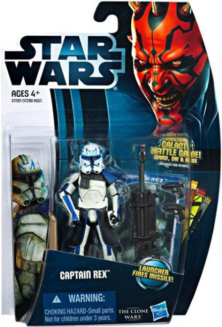 Star Wars The Clone Wars Clone Wars 2012 Captain Rex Action Figure CW13