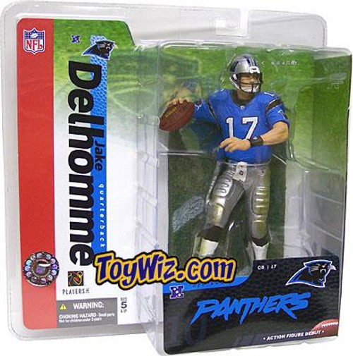 McFarlane Toys NFL Carolina Panthers Sports Picks Series 10 Jake Delhomme Action Figure [Blue Jersey Variant]