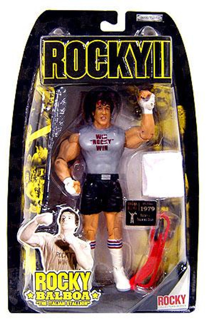 Rocky II Series 2 Rocky Balboa Action Figure [Training]