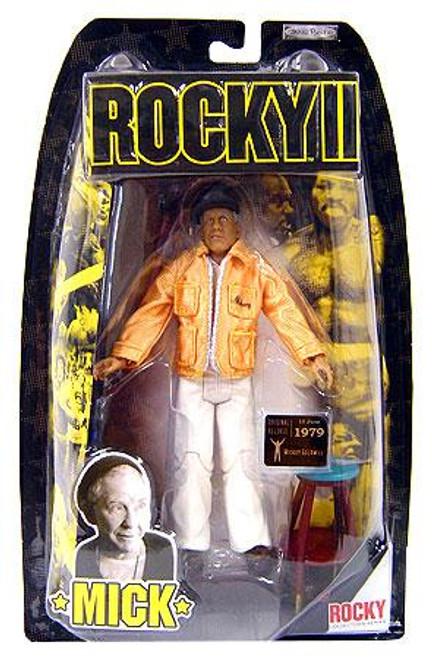 Rocky II Series 2 Mick Action Figure [Yellow Corner Gear]