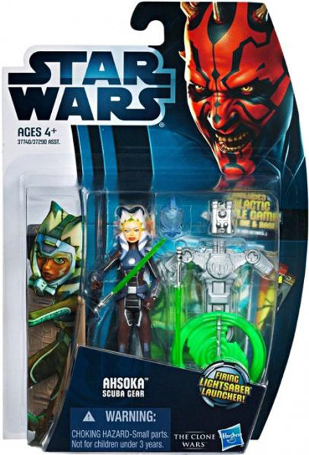 Star Wars The Clone Wars Clone Wars 2012 Ahsoka Tano Action Figure CW15 [Scuba Gear]