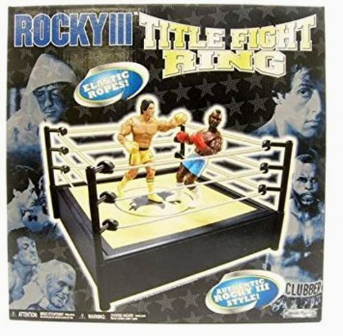 Rocky III Title Fight Boxing Ring Playset