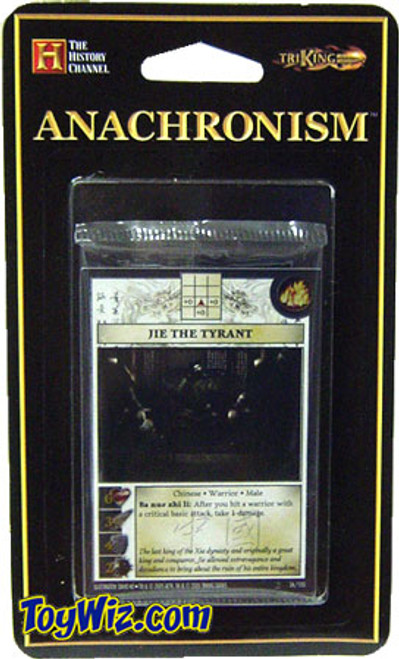 Anachronism Chinese Jie the Tyrant Warrior Pack