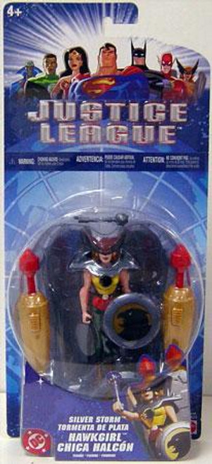 Justice League Hawkgirl Action Figure [Silver Storm]