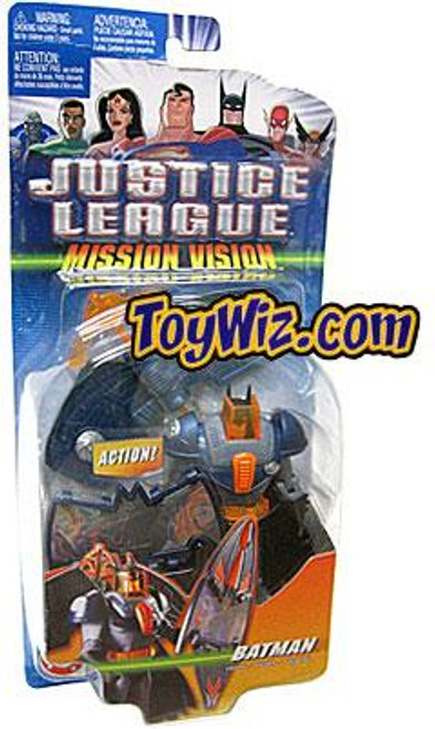 Justice League Mission Vision Batman Action Figure [With Wings]
