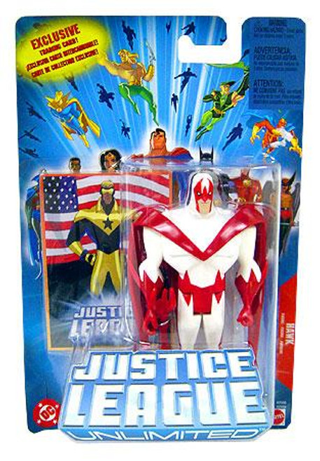 Justice League Unlimited Hawk Action Figure