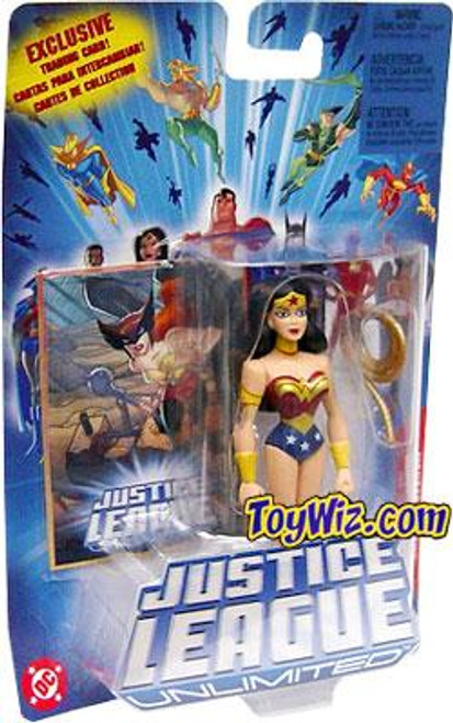Justice League Unlimited Wonder Woman Action Figure [Blue Card, Gold Lasso]