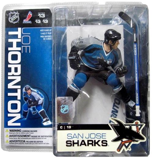 McFarlane Toys NHL San Jose Sharks Sports Picks Series 13 Joe Thornton Action Figure [Blue Jersey]
