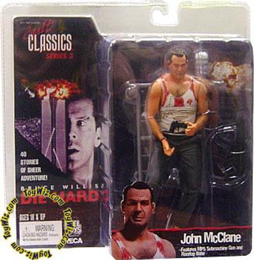 NECA Die Hard Cult Classics Series 3 John McClane Action Figure