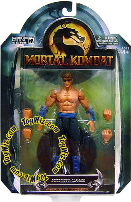 Mortal Kombat Shaolin Monks Series 3 Johnny Cage Action Figure
