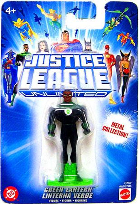 Justice League Unlimited Green Lantern Diecast Figure [Blue Card]