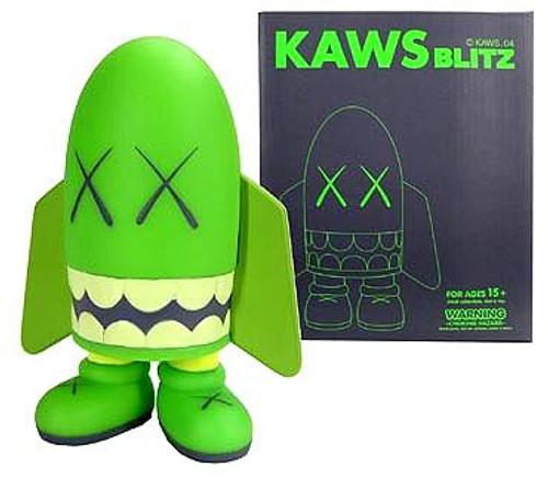 Kaws Blitz Vinyl Figure [Green]