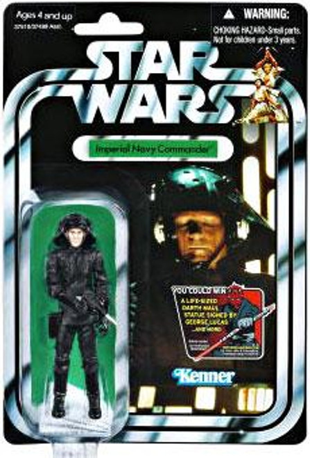 Star Wars A New Hope Vintage Collection 2012 Imperial Navy Commander Action Figure #94