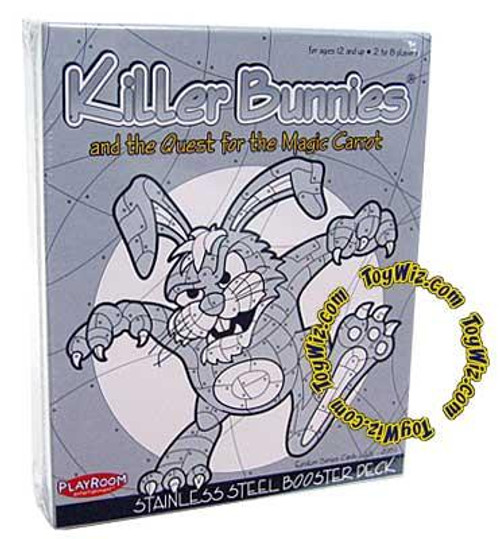 Killer Bunnies and the Quest for the Magic Carrot Stainless Steel Booster Deck