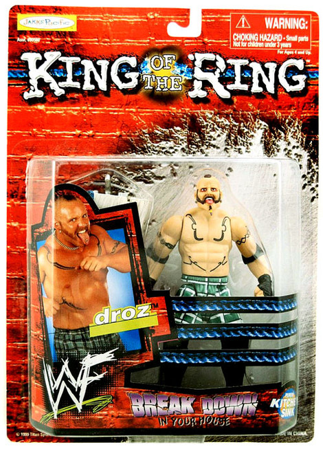 WWE Wrestling WWF King of the Ring Breakdown in Your House Droz Action Figure
