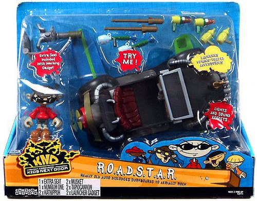 Codename Kids Next Door R.O.A.D.S.T.A.R. Vehicle