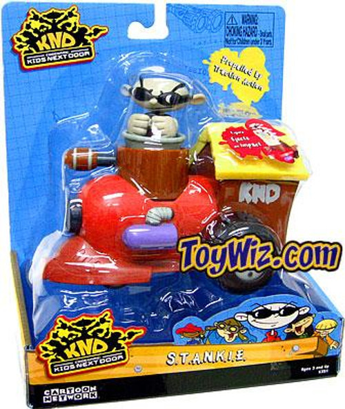 Codename Kids Next Door S.T.A.N.K.I.E. Zoomer Vehicle