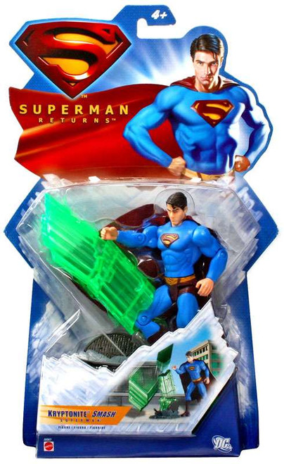 Superman Returns Superman Action Figure [Kryptonite Smash]