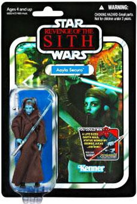 Star Wars Revenge of the Sith Vintage Collection 2012 Aayla Secura Action Figure #58