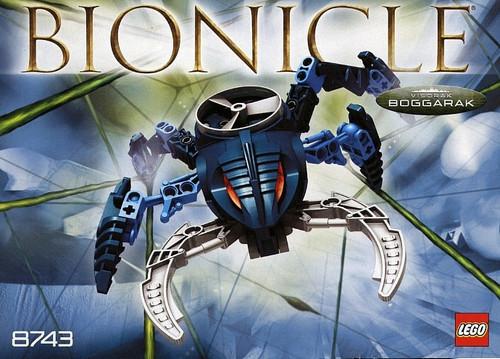 LEGO Bionicle Visorak Boggarak Set #8743
