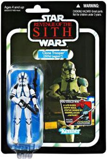 Star Wars Revenge of the Sith Vintage Collection 2012 Clone Trooper Action Figure #60 [501st Legion]