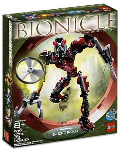 LEGO Bionicle Sidorak Set #8756