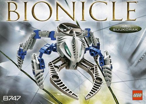 LEGO Bionicle Visorak Suukorak Set #8747