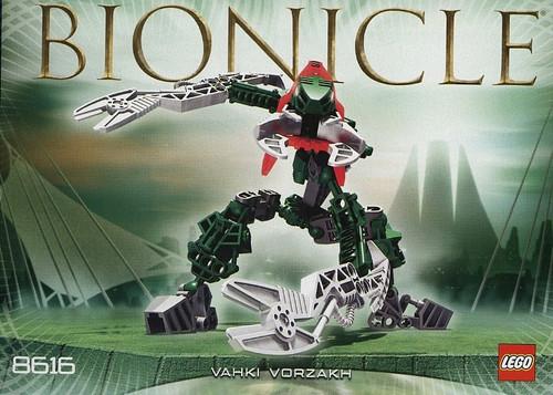 LEGO Bionicle Vahki Vorzakh Set #8616