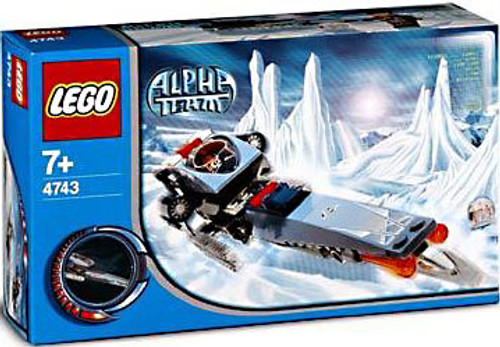 LEGO Alpha Team Ice Blade Set #4743